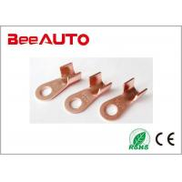 China OT Model Electro Tin Plated Ring Copper Tube Terminals Ring Hole Diameter 13mm / 0.51inch wholesale