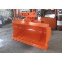 High Efficiency Hitachi ZX120 Excavator Tilt Bucket With Bolted Cutting Edge