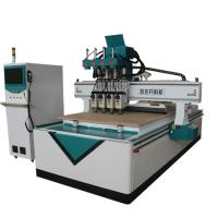 China 3D Sculpture Automatic CNC Router Wood Carving Machine T Style Heavy Duty Frame wholesale