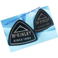 Quality Air Force / Navy Squadron Patches Faux Leather Labels , Custom Military  Patches for sale