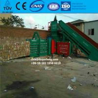 China Horizontal hydraulic baling press baler machine with TUV wholesale