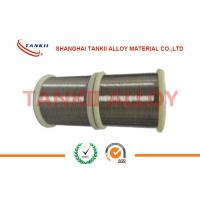 China Diameter 1.0mm 1.2mm TP / TN Thermocouple Bare Wire Type T Copper - Constantan Wire wholesale