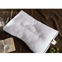 China 100% Polyester Fiber Pillow Ball Quilted Microfiber Filling Bolster White Goose Down wholesale