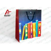 China Funny paper  Christmas Children Paper Gift Bags For Shopping wholesale