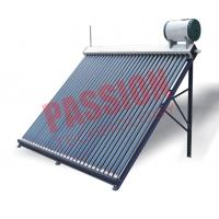 China Home Bathing Solar Hot Water Evacuated Tube System With Feeding Tank on sale