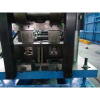 China Drive By Chain C Purlin Roll Forming Machine With Three Punching System wholesale