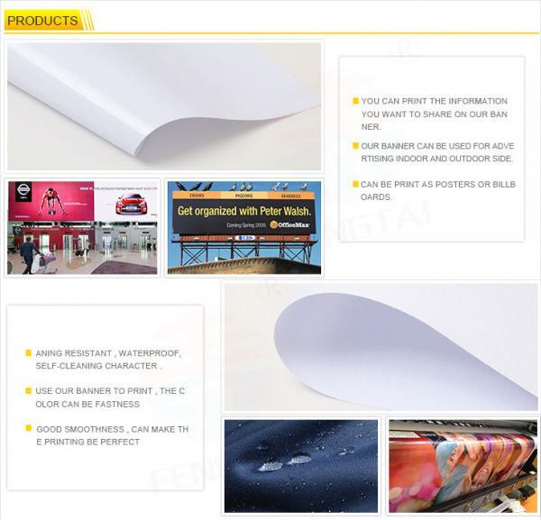 280gsm (8oz) 200D*300D 18*12 PVC Flex Banner