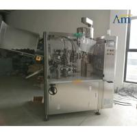 China Aluminum Tubes Automatic Filling Sealing Machine For Pharma / Food / Chemical wholesale