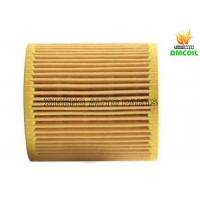 China Small Flow Resistance Auto Oil Filters With Strong Filtration Ability wholesale