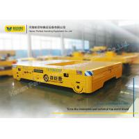 Buy cheap Large Table Conductor Cable Power Pallet Transfer Carts , Rail Transfer Trolley Car from wholesalers
