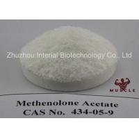 Quality Raw Lean Muscle Methenolone Enanthate Steroids Hormone Powder Methenolone Acetate CAS 434-05-9 for sale