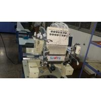 China 15 Colors Single Head Embroidery Machine With Sequin / Cording Device 125kgs wholesale