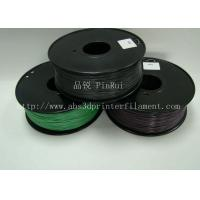 Quality ABS 3d printer material Color Changing Filament 1.75 / 3.0mm three colors for sale