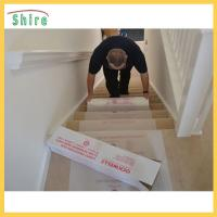 China SH - CT49085 Stair Carpet Protection Film Temporary Stair Protective Films wholesale