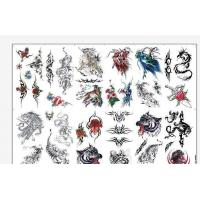 China 8.5 X 11 Temporary Tattoo Decal Paper Water Transfer Type For Body OEM wholesale