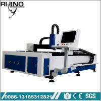 500W Raycus Fiber Laser Cutting Machine For Steel / Carbon Steel