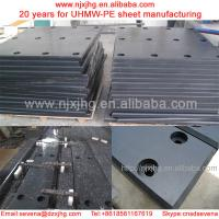 China High-wearing rubber faced UHMWPE sheet|PE Dock Fender Pad/dock fender system wholesale