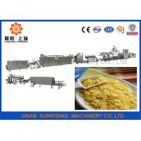 China high quality long performance automatic  corn flake production line wholesale