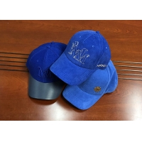 China Fashionable different color blue as you want 6panel structured baseball caps hats wholesale