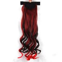 China Wine Red Ombre Human Hair Extensions No Shedding AAAAAAA Grade 30 Inch on sale