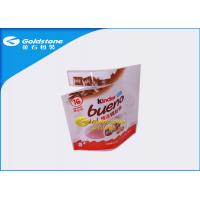 China Aluminum Foil Resealable Stand Up Pouches For Chocolate Food Packaging on sale