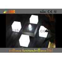 Quality Round And Square LED Table And Chairs Glowing Furniture 50 / 60 HZ Frequency for sale