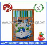 China OEM Recyclable Plastic Treat Bags Anti-Static Die Cut Handle For Dried Food on sale