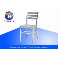 China Comfortable Silver Metal Navy Chair wholesale