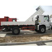 China Safety 6 Wheels Sinotruk Howo White Cargo Truck 4×2 290HP 20 Tons Loading Capacity wholesale