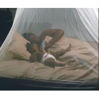 China White Anti Insect Netting , Diamond / Hexagonal Mesh Mosquito Net For Bed on sale