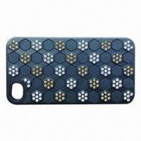 China PC/TPU Combined Case with Diamonds, for iPhone 5, Fashionable wholesale