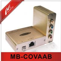 Component Video/Analog Audio Extender Over Cat5e/6  MB-COVAAB