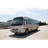 China 4×2 Commercial Toyota Coaster Motorhome Vehicles Folding Door Staff Small ISUZU Engine wholesale