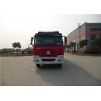 380HP Engine Power Motorized Fire Truck With Water Pump Transmission System