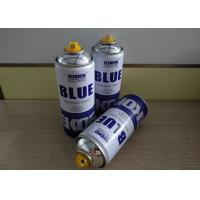 China Multi - Purpose Graffiti Silver Chrome Spray Can / Graffiti Spray Paint Low Toxicity Type wholesale