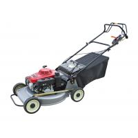 China Red Small Push Lawn Mowers / Rotary Lawn Mower Chinese Gasoline Engine wholesale