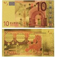 China Euro 10 USD Gold Banknote Gold Money wholesale