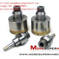 China Diamond Drill Bits for Polishing Glass alan.wang@moresuperhard.com wholesale