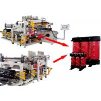 China Programmable Dry Transformer Foil Winding Machine With TIG Welding Touch Screen on sale
