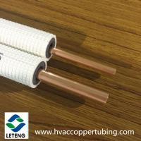 China 15.88mm Thermal Insulated Copper Pipe Air Conditioner Connection Copper Pipe on sale