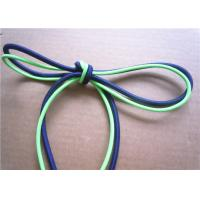 China Elastic Polished Cotton Cord Rope , Cotton Braided Cord Eco Friendly wholesale