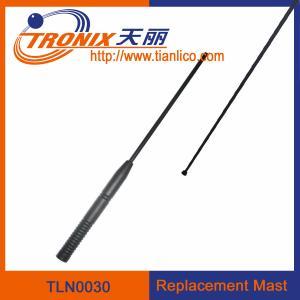 China 1 section mast car antenna/ car replacement mast antenna/ car antenna accessories TLN0030 wholesale