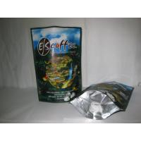 China Coffee Ziplock Foil Packaging Bags Printing Stand Up Glossy Finish wholesale