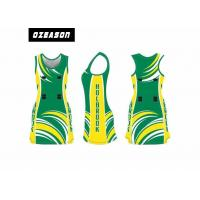 China Custom Sublimated Netball Dress Uniform For Girl Moisture-Wicking wholesale