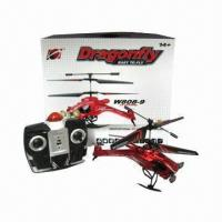 China 3.5ch Mini Dragonfly Helicopter, Built-in Gyro, Measures 22 x 8 x 14cm wholesale