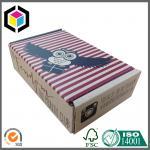 China Single Wall Corrugated Cardboard Shipping Box; Custom Color Print Mailing Box wholesale