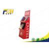 Buy cheap Custom Advertising Retail Cardboard Shelf Paper Floor Display Stand from wholesalers