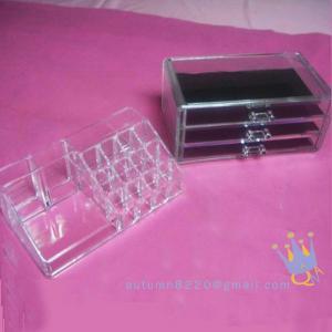 China acrylic drawers cosmetic organizer wholesale