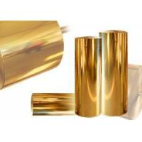 Buy cheap Christmas Gify Plastic Wrapping Foils Plastic Foil Packaging 640Mm Gold Stamping from wholesalers