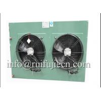 China Black Or White Body Two Fans Condenser Unit For Air Conditioner , CC Approval wholesale